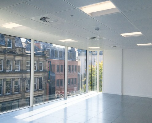 86 Deansgate, Manchester, natural daylight