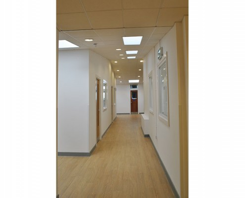 Eccles 6th Form College, Manchester, Corridor 2