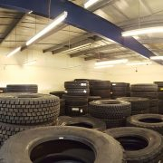 Lodge Tyres, Eccles - Low energy lighting