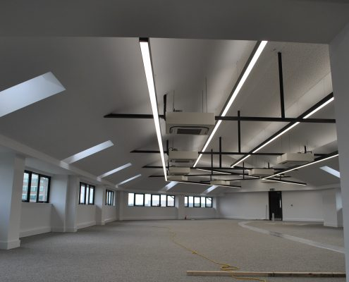 commercial lighting installation Altrincham