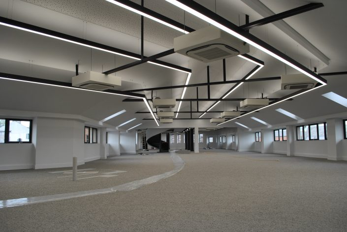 commercial electrical installation