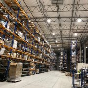 warehouse lighting installation Stoke