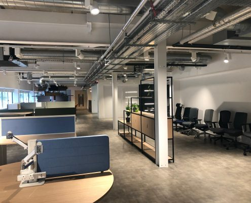 commercial electrical fit out