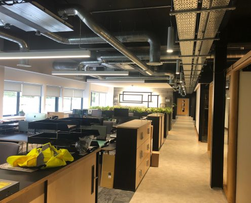 office electrical fit out